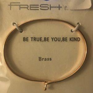 Be True, Be You, Be Kind Bracelet